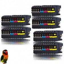 BROTHER LC123/LC121 DCP-J4110 MFC-J4510 MFC-J650 PACK 60 TINTAS compatibles