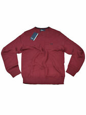 Fred Perry Pullover Rundhals Feinstrick Burgundy K3201 850 #6002