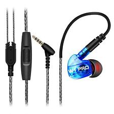 In-Ear HIFI Stereo Sports Earphones 3.5mm Super Bass Earbud Headset With Mic Hot