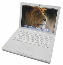 """Apple MacBook 13"""" Core2 Duo T7400 2.16Ghz 2GB 100GB White 2007 A1181 - OSX Lion"""