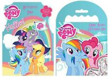 My Little Pony Activity Pack Colouring Carry Along Pad & Crayons kids fun Gift