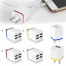1/2/4 Ports USB EU/US Wall Charger Netzteil  for Smart Phone Tablet PDA ESDDE