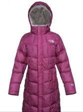 Girls North Face Metropolis Parka Dark Pink Cerise Immaculate Condition RRP £170