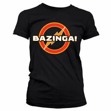 BIG BANG THEORY UNDERGROUND LOGO camiseta mujer girlie-shirt official license
