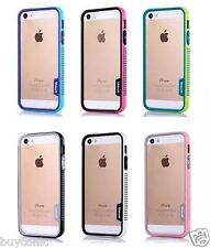 NON SLiP   Walnutt Bumper Back Case Cover for iPhone SE iPhone 5 5S case Cover