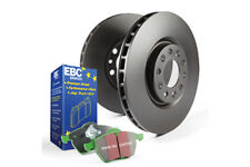 EBC Rear Brake Kit Greenstuff Pads + Discs for MERCEDES-BENZ (W116) 450 SEL (BHP