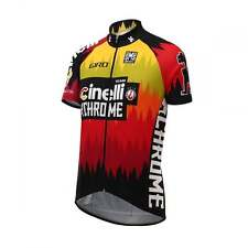 Santini Cinelli Chrome 16 Short Sleeve Cycle Cycling Road Bike Jersey