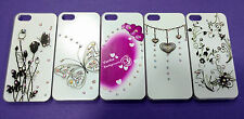 APPLE IPHONE 5G 5S PREMIUM IMPORTED DIAMOND HARD BACK CASE COVER.