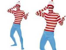 Wheres Wally? Lycra Body Uomo ladoes Book Week Costume m, L
