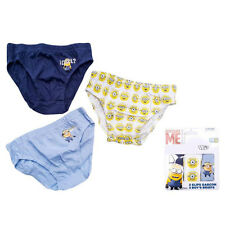 Minions Boys Briefs (Pack of 3)