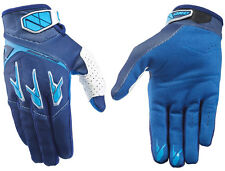 HOMBRE ONE INDUSTRIES ATOM MOTOCROSS MX guantes AZUL MARINO/TURQUESA guantes