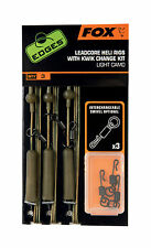 Fox Edges Lead Clip/ Leadcore/ Leaders /Heli Rigs Kits -Kwik Change Kit -Various
