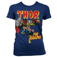 MARVEL UNIVERSE THOR FOR ASGARD camiseta mujer shirt woman official license