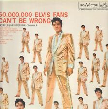 LP Elvis Presley 50,000,000 Elvis Fans Cant Be Wrong NEAR MINT RCA Records