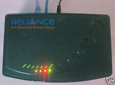 RELIANCE BROADBAND VoIP MODEM+ROUTER+VOICE GATEWAY, MODEL No: MTA6328-1Be2S