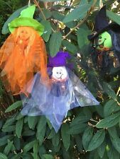 "15"" Hanging Cutie Halloween Decorations Party Ghost Witch Pumpkin Horror Prop"