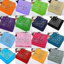 Head wrap Cotton Head Wrap Paisley Bandana Neck Scarf Wristband Handkerchief C23