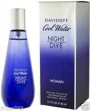Perfume by Davidoff Cool water Night Dive 80 ML for Women