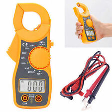 Portable LCD Digital Clamp Ampere AC DC Voltage Multi Meter Current OHM Tester