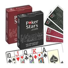 Carte COPAG PokerStars 100% PVC Jumbo Index - CP04