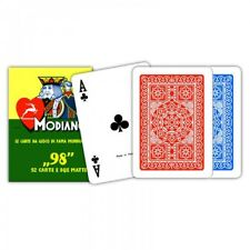 ★Carte POKER 98 Blu o Rosse Modiano - 300250_300252