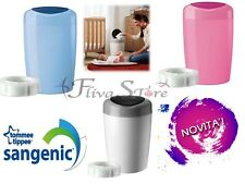 CONTENITORE BIDONE SANGENIC TOMMEE TIPPEE SIMPLEE MANGIA PANNOLINI NEW DESIGN