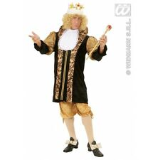 Mens MEDIEVAL KING Costume for Middle Dark Ages Fancy Dress Outfit