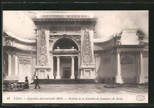 AK Lyon, Exposition Internationale 1914, Pavillon de la Chambre de Commerce de
