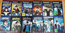 PS2/ PSX/ PS2 HARRY POTTER Alle 7 PS2 & PSX Games + DVD. Game Nach Wahl