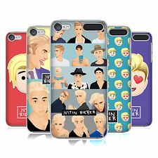 OFFICIAL JUSTIN BIEBER JUSTMOJIS HARD BACK CASE FOR APPLE iPOD TOUCH MP3