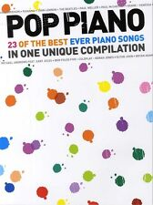 Pop Piano: 23 Of The Best Ever Piano Songs. PVG Sheet Music