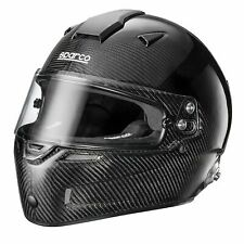 Sparco Sky RF-7W Carbon Fibre Shell Car Racing/Race/Track Crash Helmet/Lid