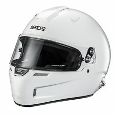 Sparco Air Pro RF -5w Fibreglass Shell Car Racing/Race/Track Crash Helmet/Lid
