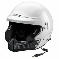 Sparco Air Pro RJ-5i Fibreglass Shell Car Racing/Race Crash Helmet/Lid