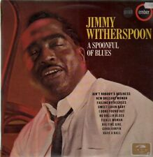 Jimmy Witherspoon A Spoonful Of Blues NEAR MINT Ember Records Vinyl LP