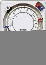 Theben 1790008 TM 179 H - Timer analogico, 72 x 72 mm - NUOVO