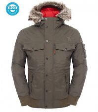 The North Face Giacca Invernale Uomo M Gotham Black Ink Green