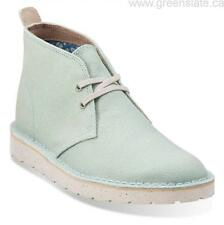 CLARKS ORIGINALS DESERT AERIAL boots PALE GREEN CANVAS VARIOUS SIZES
