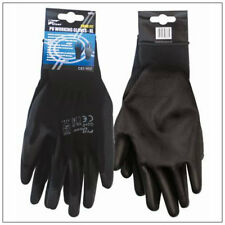 PU Palm Coated Precision Protective Safety Work Gloves - Multi Purpose