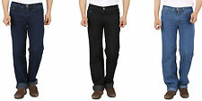 Men's Denim Stretch Jeans Comfort Fit