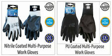 Palm Coated Precision Protective Safety Grip PPE Work Gloves - Multi Purpose