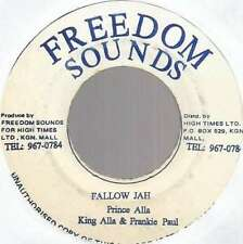"King Alla* & Frankie Paul - Fallow Jah (7"", Single Vinyl Schallplatte - 6937"
