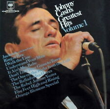 Johnny Cash Greatest Hits Volume 1 CBS Vinyl LP