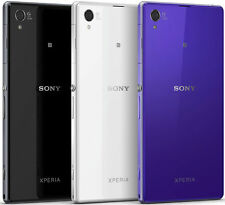 100% Brand New Battery Back Door Glass Panel For Sony Xperia Z1 with Adhesive