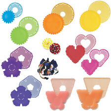 Clover Yo-Yo / Bow / Sweetheart Rose Makers For Bags Covers Etc All Free UK Post