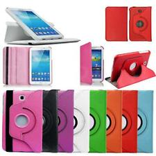 "Samsung Galaxy TAB 3 7""inch Flip Rotate Case Cover Stand P3200 T211Rotating Tab3"