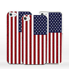 Bandiera Stati Uniti America Cover Custodia per iPhone X 8 7 6 5 4 S C SE Plus