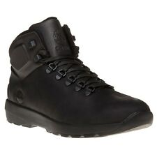 New Mens Timberland Black Westford Mid Leather Boots Chukka Lace Up