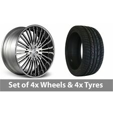 """4 x 20"""" Valhalla Signature Series Alloy Wheel Rims and Tyres - 295/40/20"""