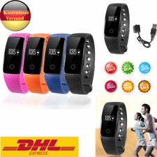 Bluetooth Smartwatch Smart Armband Uhr Sport Fitness Tracker für Android /IOS IC
